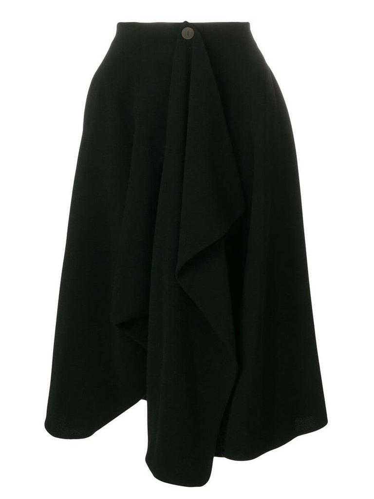 Loewe full midi skirt - Black