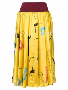 Roksanda elasticated waist skirt - Yellow