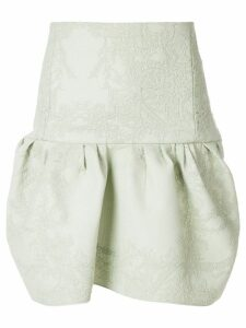Chloé embossed design flared skirt - Green