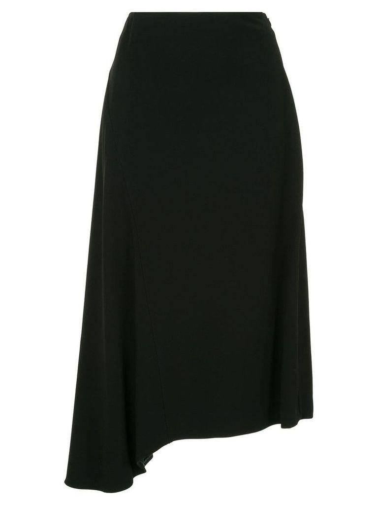 Jil Sander Felce flared skirt - Black