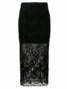 Stella McCartney lace midi skirt - Black