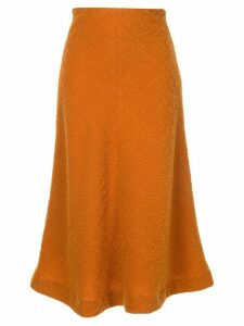 Muller Of Yoshiokubo flared midi skirt - Yellow