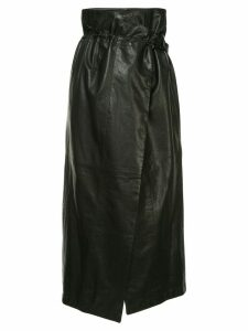 Ann Demeulemeester high-waisted wrap skirt - Black