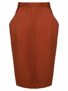 Chalayan nip waist skirt - Red