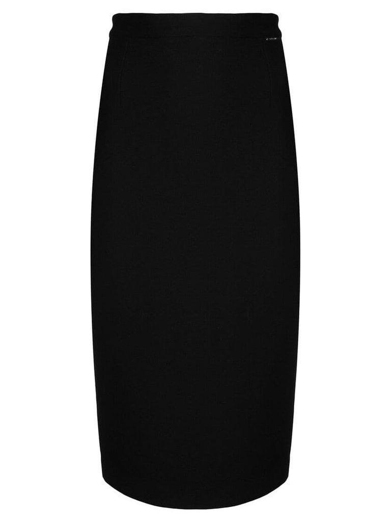 Styland midi pencil skirt - Black