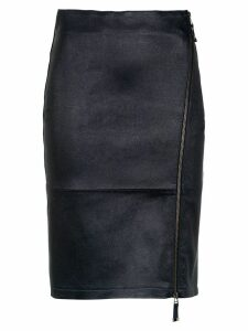Tufi Duek zipped midi skirt - Blue