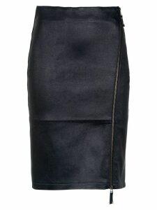Tufi Duek zipped midi skirt - Blue