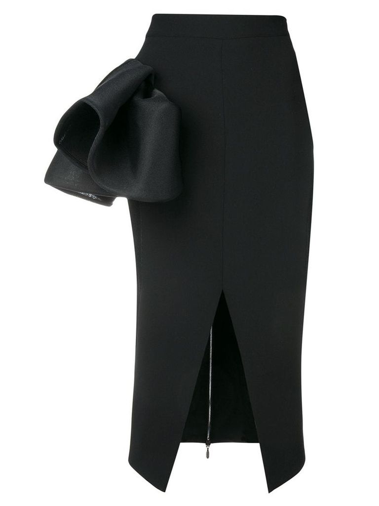 Maticevski Cause ruffle skirt - Black