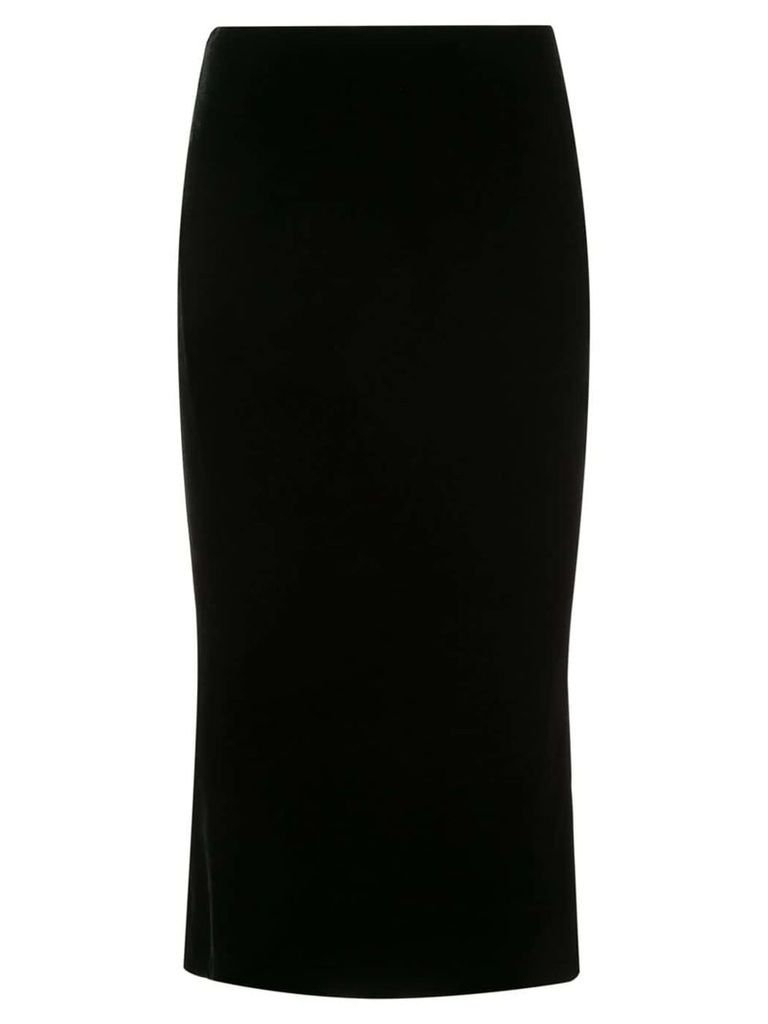 Marchesa pencil midi skirt - Black