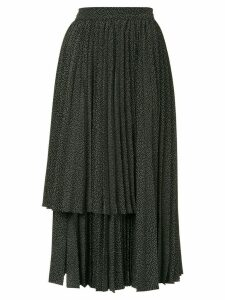 Dalood layered panel skirt - Black