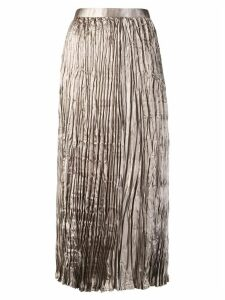 Junya Watanabe pleated skirt - NEUTRALS