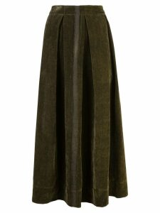 Uma Wang front pleat full skirt - Grey