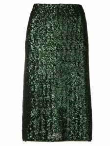Gianluca Capannolo sequin embroidered skirt - Green