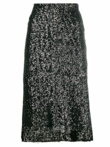 Gianluca Capannolo sequin embroidered skirt - Black