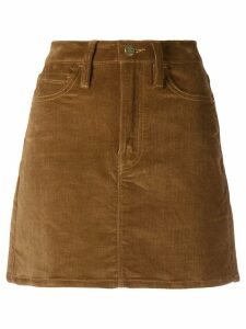 FRAME corduroy mini skirt - Brown