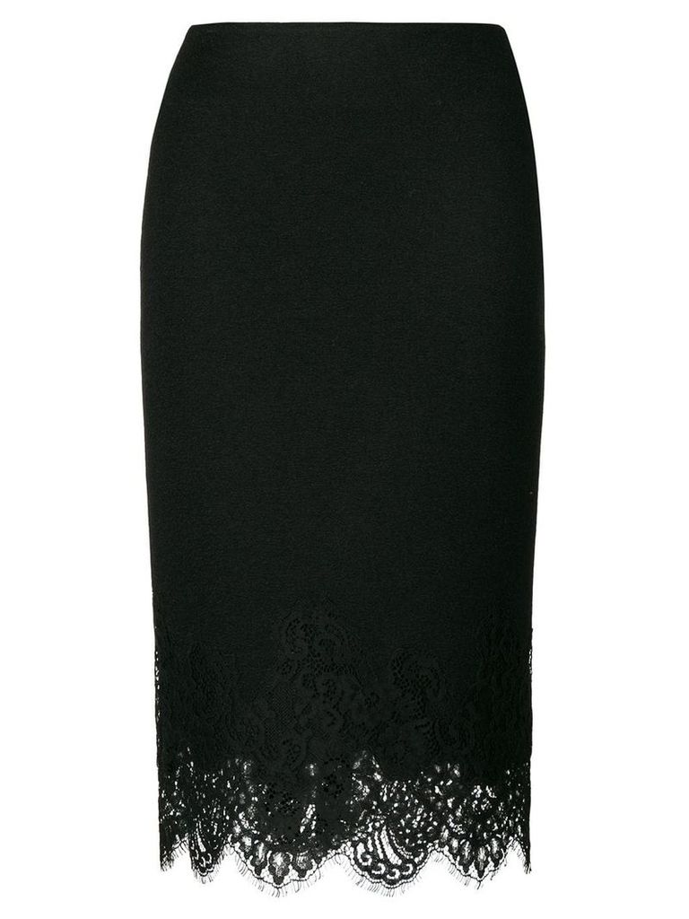 Ermanno Scervino lace hem skirt - Black