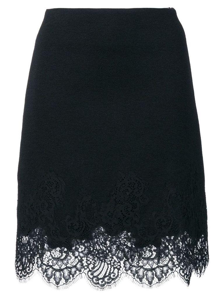 Ermanno Scervino lace trim skirt - Black