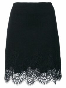 Ermanno Scervino lace trim skirt - Black