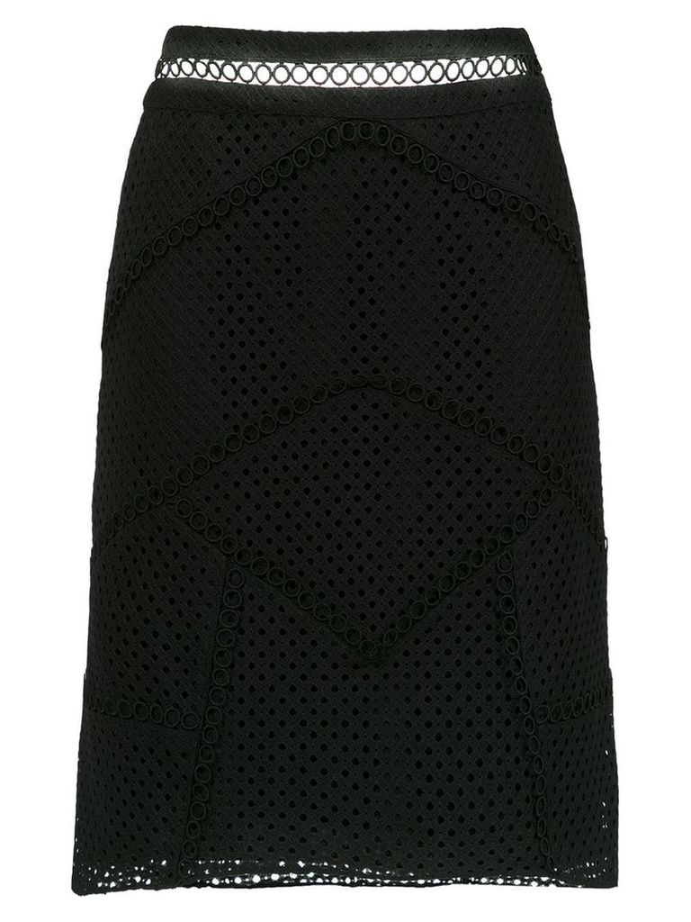 Olympiah Fellari panelled skirt - Black
