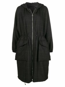 Barena zipped up parka - Black