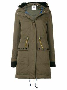 Rossignol hooded parka coat - Green
