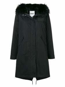 Yves Salomon Army long parka - Black