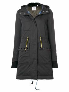 Rossignol hooded parka coat - Black