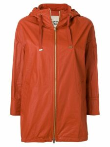 Herno hooded parka coat - Red