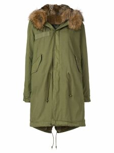 Mr & Mrs Italy fur trim parka - Green