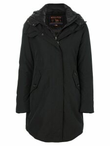Woolrich feather down parka coat - Black