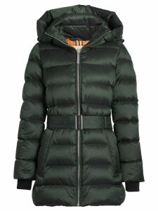 Burberry Down-filled Hooded Puffer Coat - Green