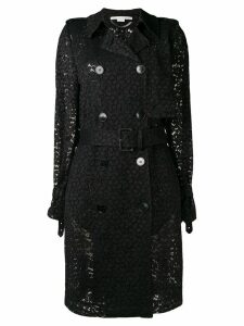 Stella McCartney lace trench coat - Black
