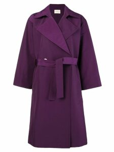 Simon Miller belted trench coat - Pink