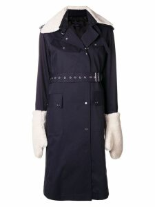 Eudon Choi Mitchell trench coat - Blue