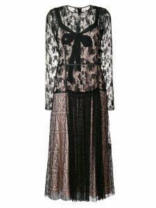 Bottega Veneta lace midi dress - Black