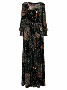 Alberta Ferretti long length dress - Black