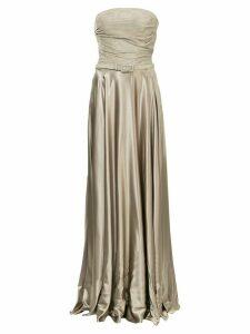 Ralph Lauren Collection long belted dress - Grey