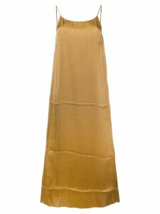 Uma Wang slip-on dress - Brown