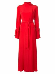 Layeur long empire line dress - Red