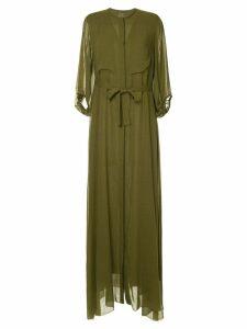 Maison Rabih Kayrouz tie waist maxi dress - Green