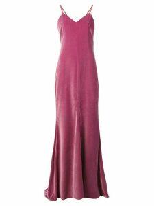 Max Mara long sleeveless dress - Pink