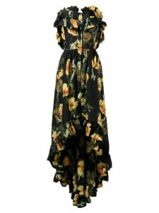 Philipp Plein Full Of Flower evening dress - Black