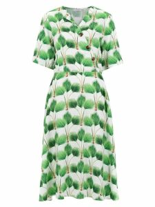 Isolda 'Ohana' printed dress - White
