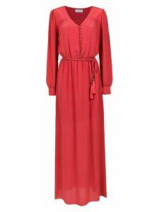 Olympiah Bardini silk dress - Red