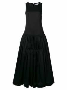 Molly Goddard Lena poplin dress - Black