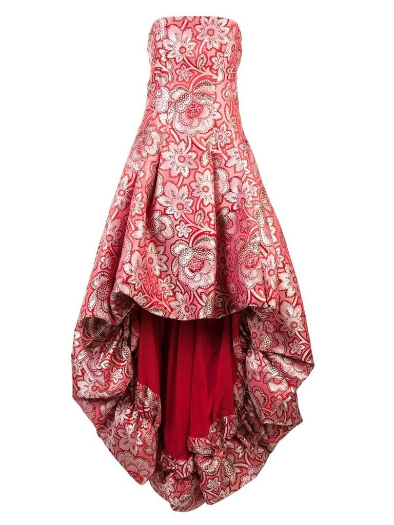 Zac Zac Posen Celine gown - Red