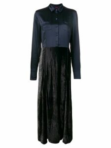 F.R.S For Restless Sleepers Fedra long dress - Blue