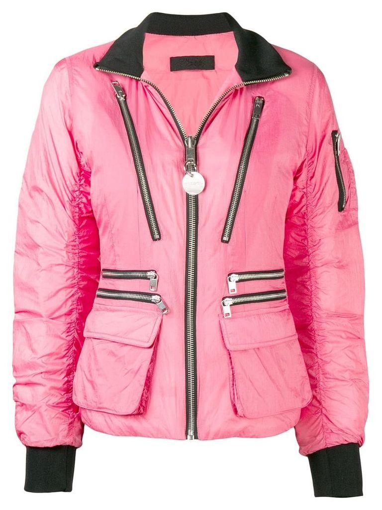 Diesel W-BLANKYT puffer jacket - Pink