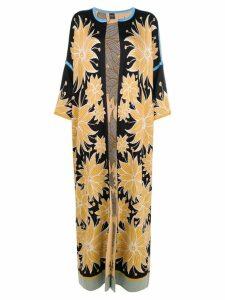 Chirazi floral print cardi-coat - Neutrals