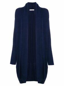 The Row cashmere cardi-coat - Blue
